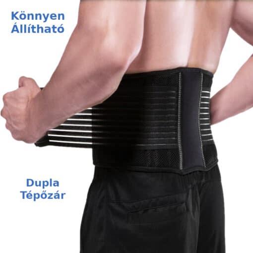 derékvédő öv fitness deréktámasz